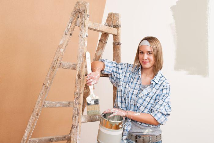 Malování bytu svépomocí