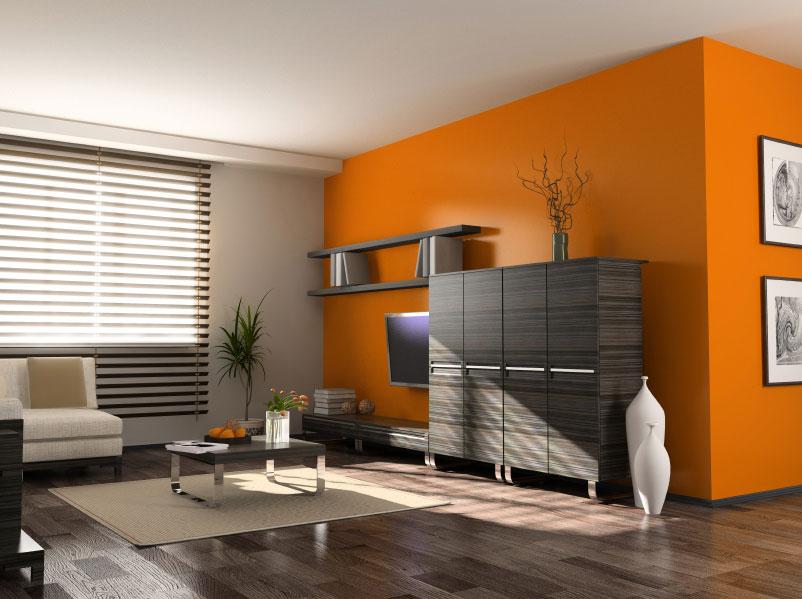 Barevně vyvážený interiér