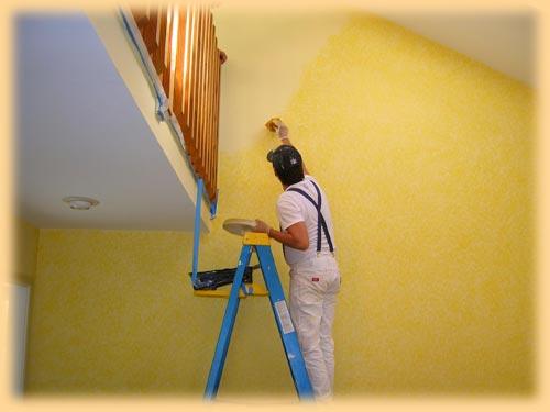 Malování interiérů na klíč